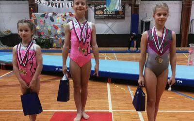 AJDA STARE – državna prvakinja v športni gimnastiki